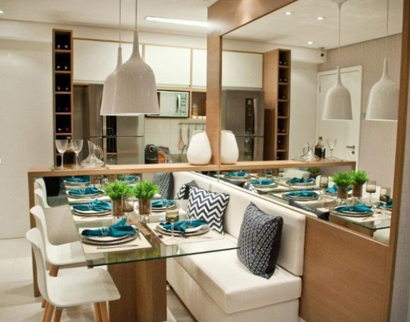 Saiba como planejar sua mesa de jantar em um espaço reduzido
