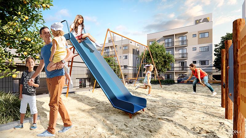 playground minha casa minha vida chapeco