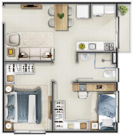 Residencial Vila das Margaridas: PHB tipo