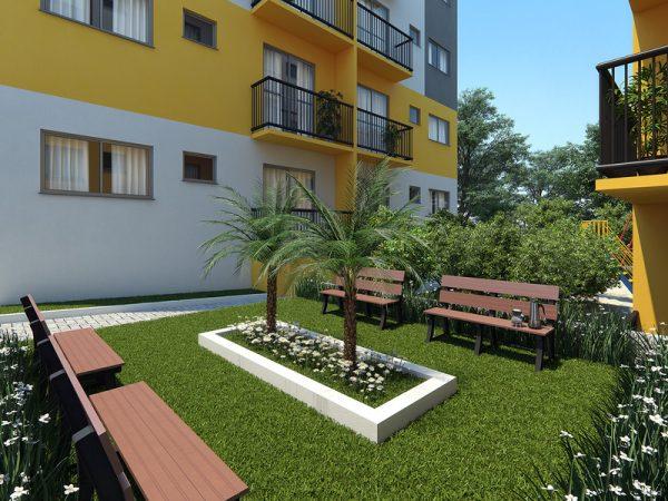 Residencial Vila das Margaridas: Praça Chimarrão