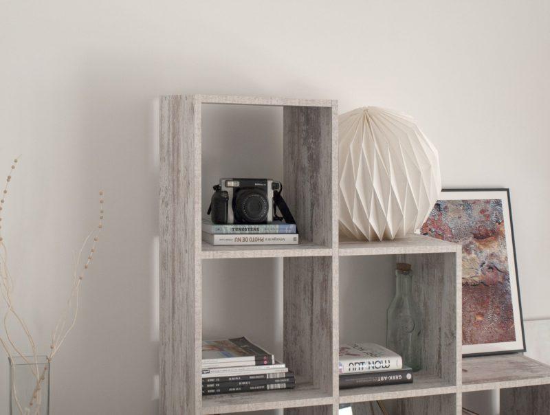 prateleiras na decoração do quarto de casal