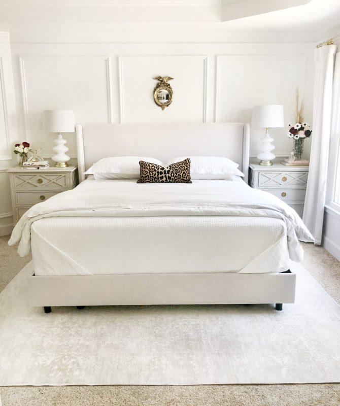 decoração do quarto com tapete